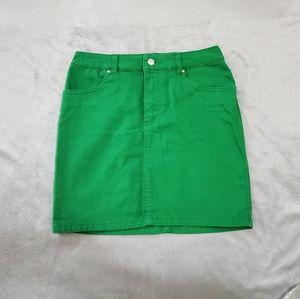 FREE W $50 | H&M 6 Green Skirt